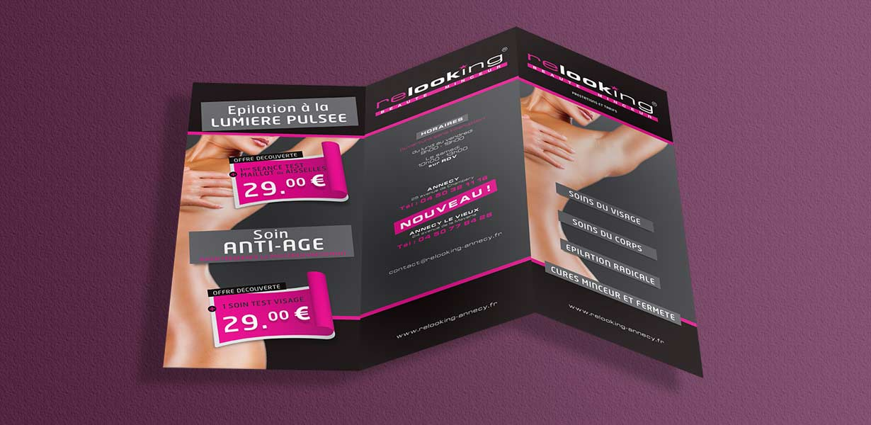 Print Studio Graphique Impression De Flyer Brochure Plaquette